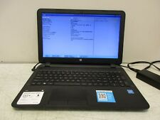 HP 15-1233wm Notebook Intel 2.00GHz 4GB RAM 500GB HD NO OS INCOMPLETE LAPTOP