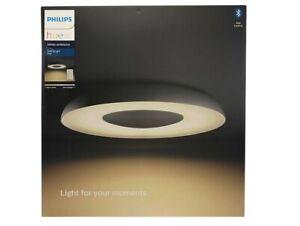 Philips Hue White Ambiance Ceiling light Still Deckenleuchte schwarz +FB