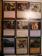 LOT 9 CARTE MAGIC l'Assemblée Trading CARDS MTG Inhabituelles