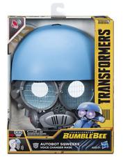 Hasbro Transformers BumbleBee Autobot Sqweeks Mask - BRAND NEW!!!