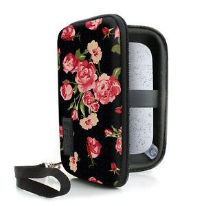 USA GEAR Hard Shell HP Sprocket Pocket Printer Carrying Case