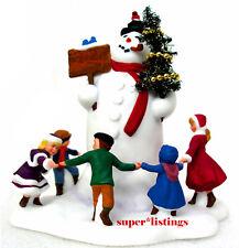 Dept. 56 Village Square Snowman Limited Production 2002 Heritage 58638 New