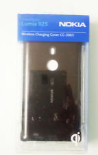 More details for genuine nokia cc-3065 wireless charging shell cover case for lumia 925 | black