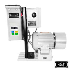 "2x72 Belt Grinder Motor 110V/60Hz 1.1hp with VFD  and 4"" Drive Wheel"