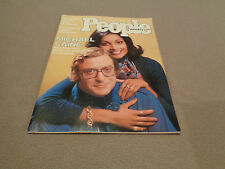 People - March 1, 1976 - Michael Caine w/ wife Shakira cover