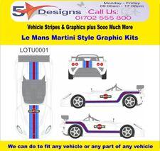 LOTUS 2 ELEVEN LE MANS MARTINI RACE RALLY LOGO Graphics Kit 1