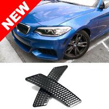 2014+ BMW F22/F23 2-SERIES 2DR FRONT BUMPER REFLECTORS - CRYSTAL SMOKE