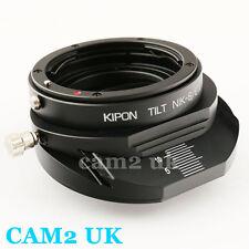 Kipon Tilt Nikon F mount lens to Sony E adapter NEX-7 6 A7 A7R A6000 A5000 5T 5R