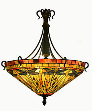 Tiffany Style Ceiling Light (very Large)