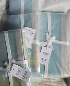 """Williams Sonoma BUTTERFLY JACQUARD Tablecloth 70""""x126"""" & 12 Matching Napkins"""