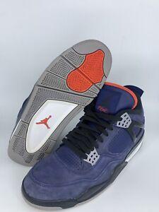 Nike Air Jordan 4 Retro Winter Loyal Blue 2019 Size 11 CQ9537-401