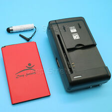 High Quality Battery+Portable Charger+ Stylus for Lg Optimus F60 Ms395 MetroPcs
