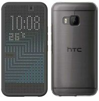 GENUINE HTC ONE M9 DOT VIEW ICE-PREMIUM CASE COVER 99H20070-00