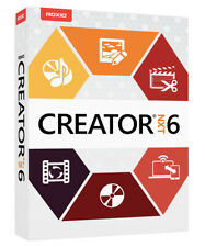Roxio Creator NXT 6 - New Retail Box with Download Option, RCRNXT6MLMBAM