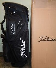 NEW Titleist 14-Way STAND CARRY GOLF BAG, ALL BLACK, TB5SX14-0, 14-Way