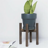 Wooden Shelf Rack Holder Plant Flower Pot Stand Wood Home Garden Display Tools