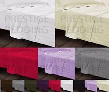 1000TC Egyptian Cotton King Fitted Sheet Flat Sheet & 2 Pillowcase 4 Piece Set