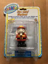 """Webkinz 3"""" Figur, Fire Chief Elefant mit geheimen Online Code von ganz"""
