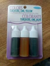 Life Of The Party Soap Dyes Pack Turquoise Lime Yellow Each .25 oz