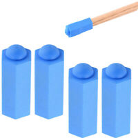 4 Pack Pool Cue Tip Cover Protector Case Billiards Stick Rod Tip Head Cover