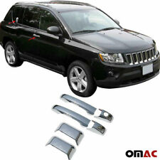 Chrome Side Door Handle Cover 4 Pcs. for Jeep Compass 2011-2016