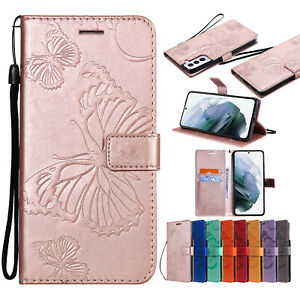 For Samsung S21 Ultra S20 Plus Note 20 S10S9S8 Magnetic Leather Flip Wallet Case