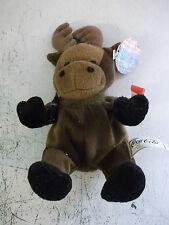 COCA COLA pouf a sacco giocattolo morbido chiamato GOLOSO il MOOSE dal Canada.