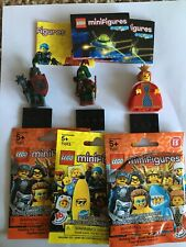 LEGO SERIES MINIFIG LOT 15 16 CASTLE MACE KNIGHT ROBIN HOOD ROGUE ARCHER QUEEN