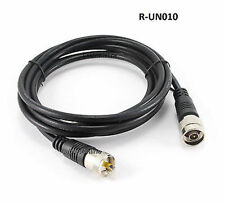 10ft RG8x Coax UHF (PL259) to N-Type M/M Antenna Cable - CablesOnline R-UN010