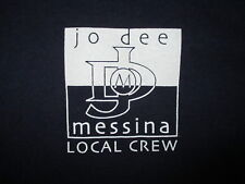 JO DEE MESSINA LOCAL CONCERT CREW T SHIRT Roadie Tour Staff Country Blue XL
