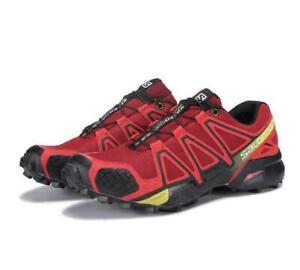 Salomon Speedcross 4 Mens Water Resistant Running Shoes Trainers Athletic Sport