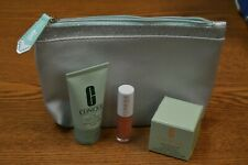 Clinique Set for Travel Cleansing Balm~7 Day Scrub~Clinique Pop Splash Gloss 03