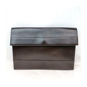 Loewe Clutch Bag Anagram Clutch Bag Dark Brown Leather 1727016