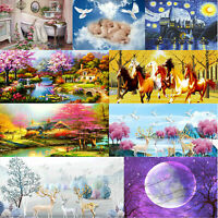 5D DIY Full Drill Diamond Painting Cross Stitch Craft Embroidery Kits Home Decor