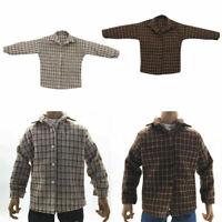"1/6 Male Plaid Shirt Clothes for 12"" Action Figure Doll Phicen TBLeague Enterbay"
