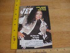 Latoya Jackson 1991 JET magazine family matters