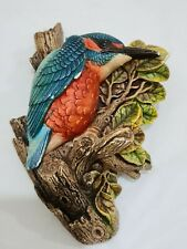 More details for legend products chalkware kingfisher ornament bird hanging figure (like bossons)