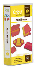 *New* MINI BOOKS Notebook Journal Cricut Cartridge Factory Sealed Free Ship