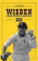 Wisden Cricketers' Almanack 2003-ExLibrary