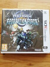 Metroid Prime Federation Force Nintendo 2DS & 3DS * NEW SEALED PAL *