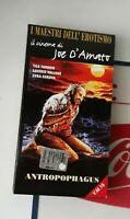 RARE ITALIAN VHS TAPE 'Anthropophagous' JOE D'AMATO PRE CERT HORROR