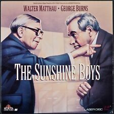 THE SUNSHINE BOYS GEORGE BURNS WALTER MATTHAU LASER DISC