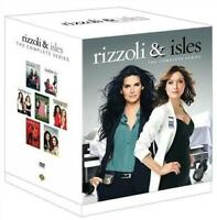 RIZZOLI & ISLES THE COMPLETE TV SERIES New Sealed DVD Seasons 1 2 3 4 5 6 7