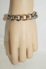 NAHU Edelstahl Armband silber rose NAB-Paris ca 19,5cm lang