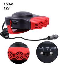 New listing 2 In 1 150W Car Heater 12V Dc Heating Fan Defogger Defroster Demister Portable