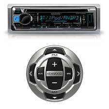 Kenwood KMR-D368BT Marine Yacht CD MP3 Bluetooth Stereo + Marine Wired Remote