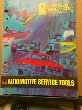 1973 Chicago Pneumatic Automotive Service Tools Catalog CP Air-Wrench Jack Drill