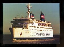 FE2355 - Swansea Cork Ferry - Celtic Pride , built 1972 ex Rogalin - postcard