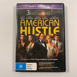 American Hustle (DVD 2014) Christian Bale Bradley Cooper Jeremy Renner Region 4