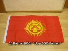 Fahnen Flagge Kirgistan - 60 x 90 cm